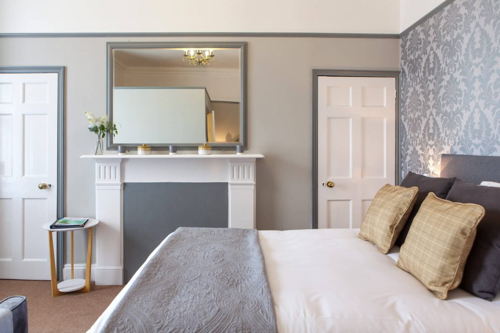 Bedroom, Dorset- Interior photographer