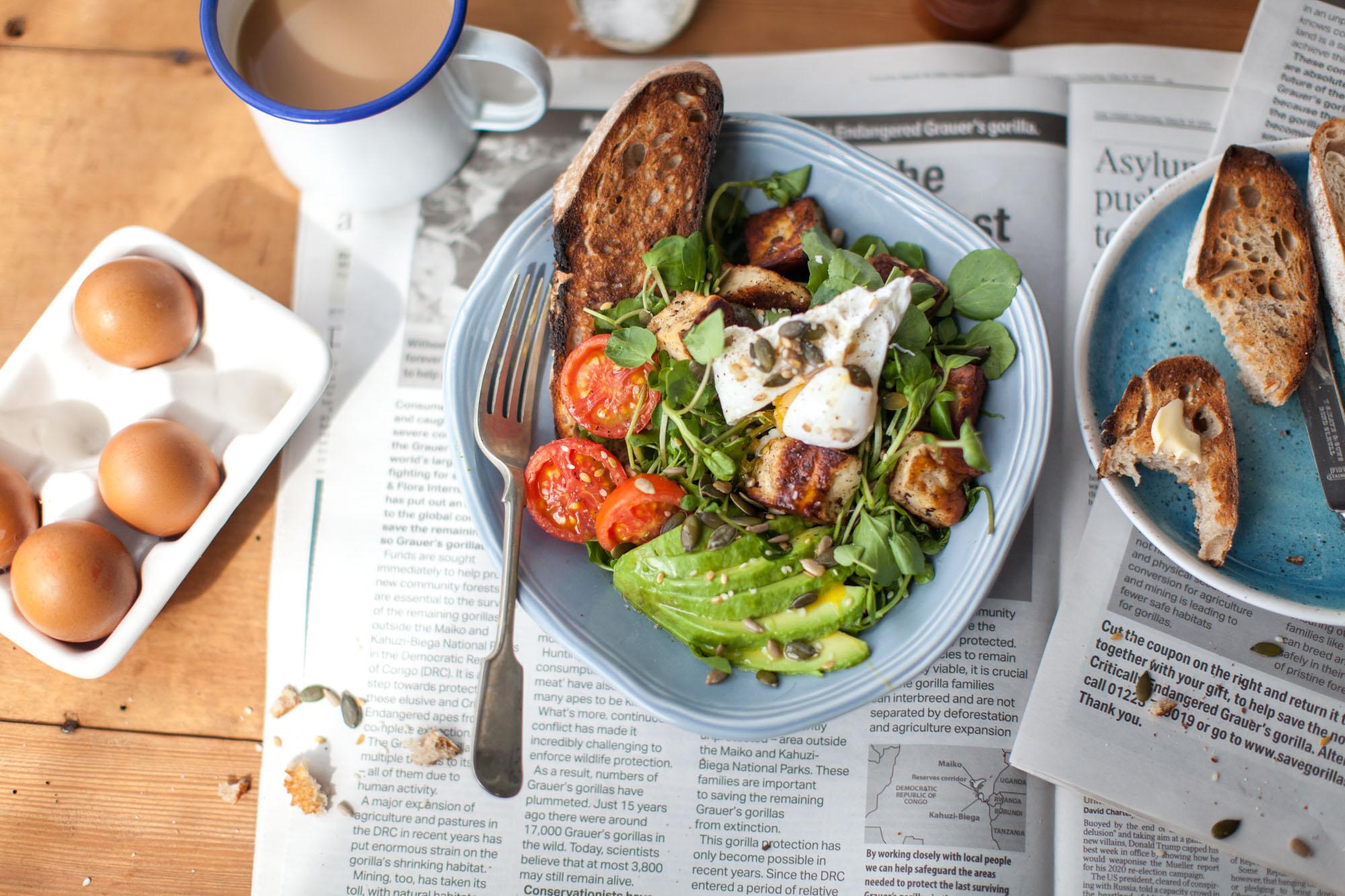 Breakfast avocado, Dorset - Food photographer