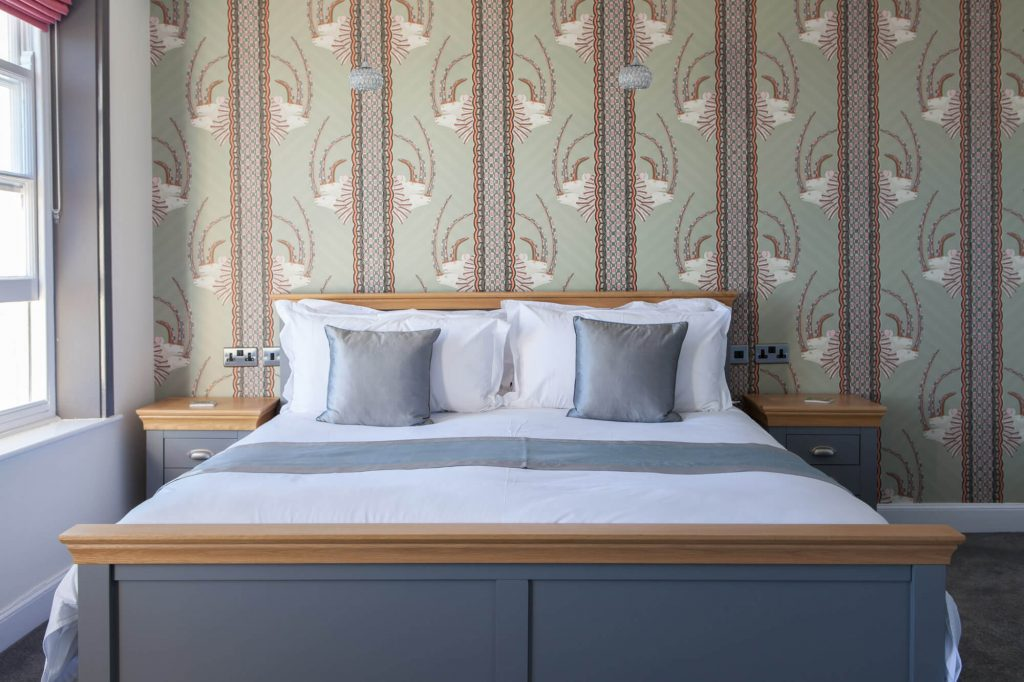 Guesthouse bed , Dorset- Interior photographer