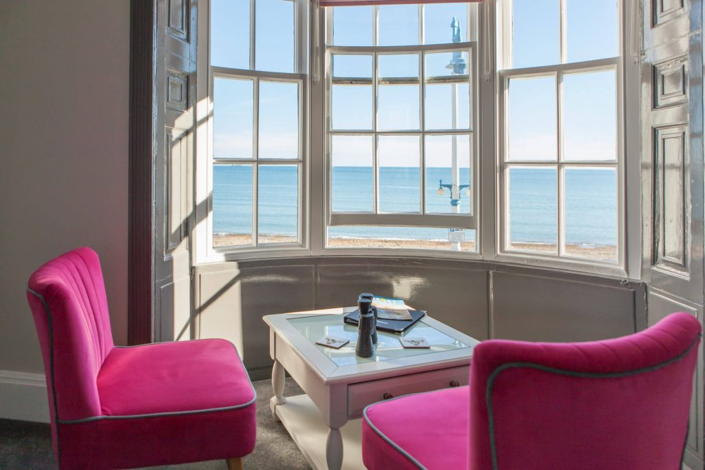Guesthouse seaview, Dorset- Interior photographer