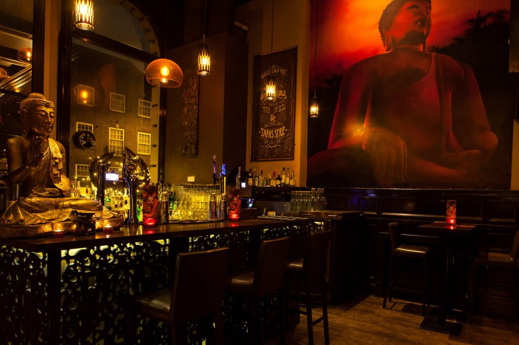 Koh Thai bar, Dorset- Interior photographer