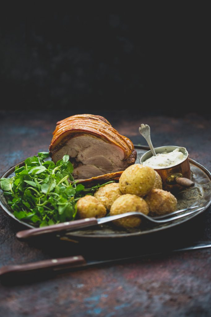 Pork roast, Dorset - Food photographer