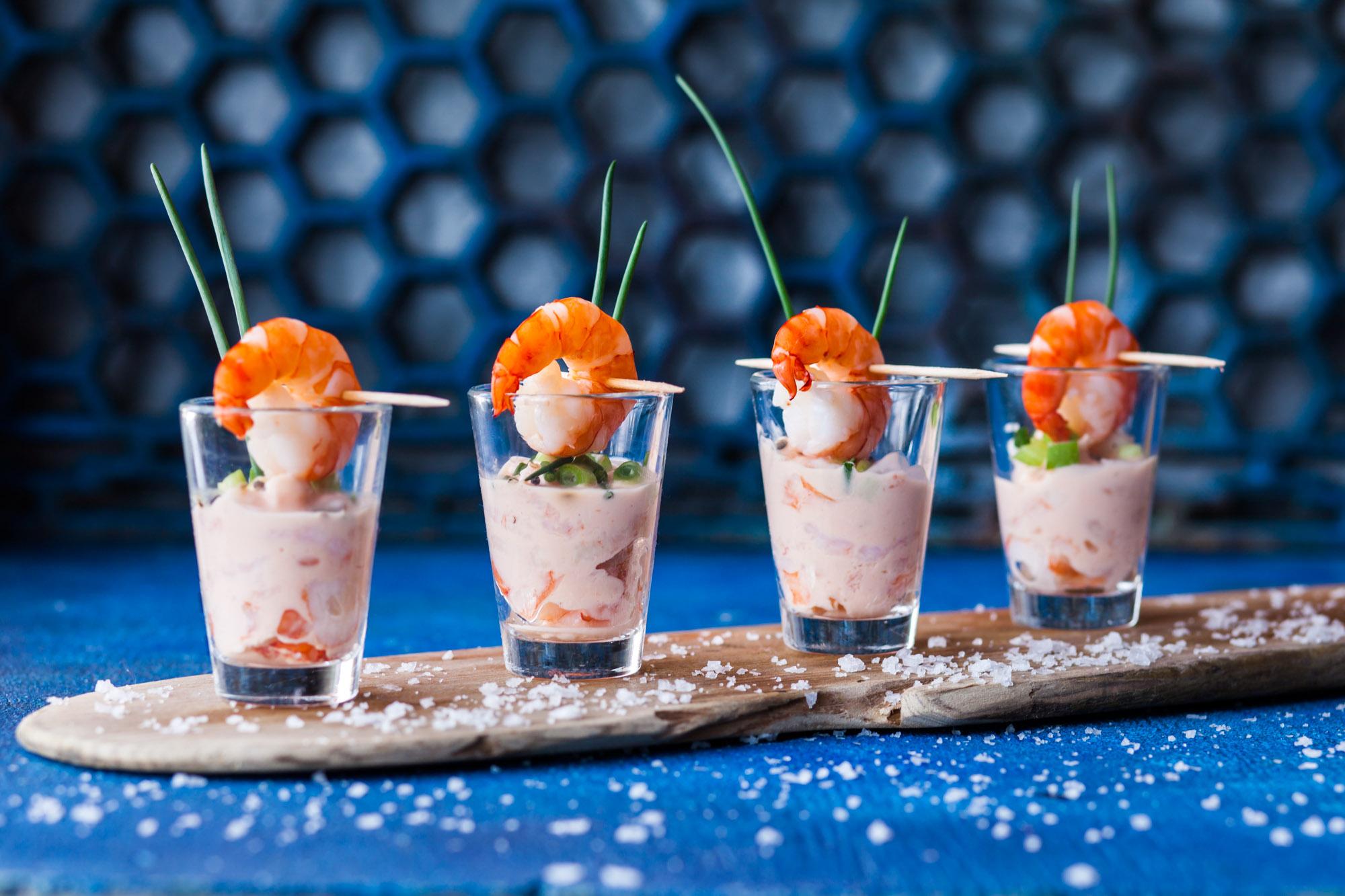 Prawn cocktail, Dorset- Food photographer