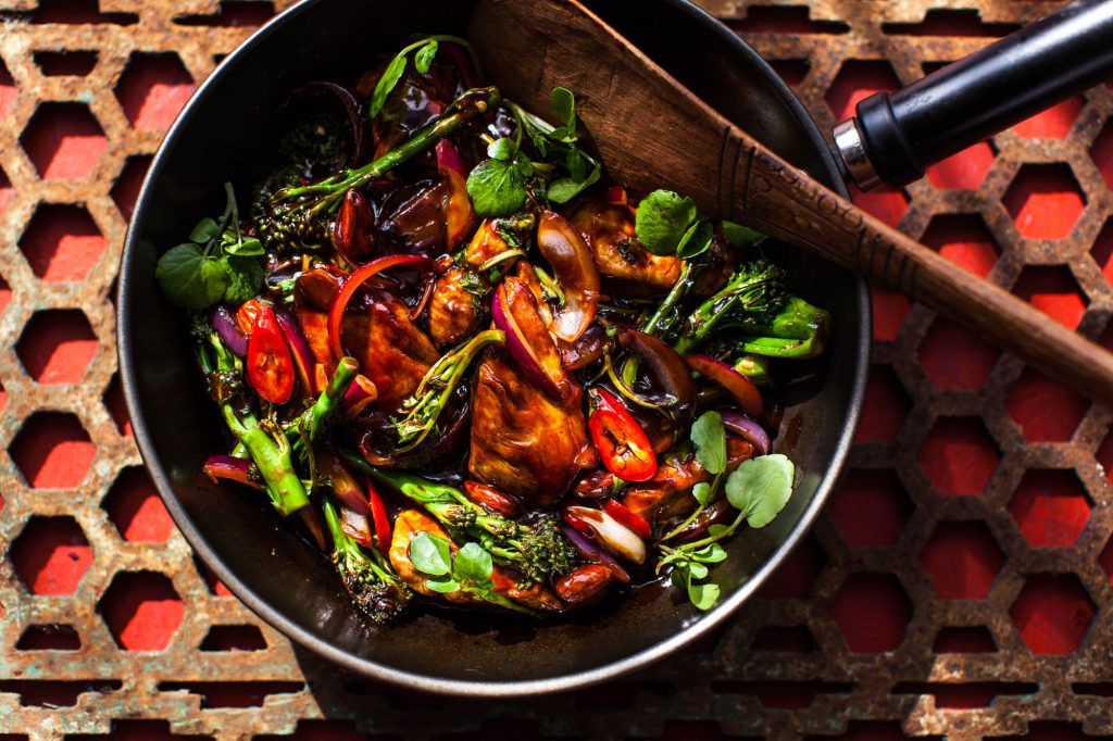 Stir fry, Dorset - Food photographer