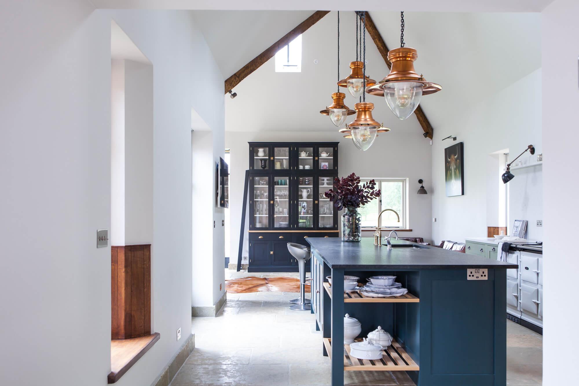 kitchen dinner Dorset- Interior photographer
