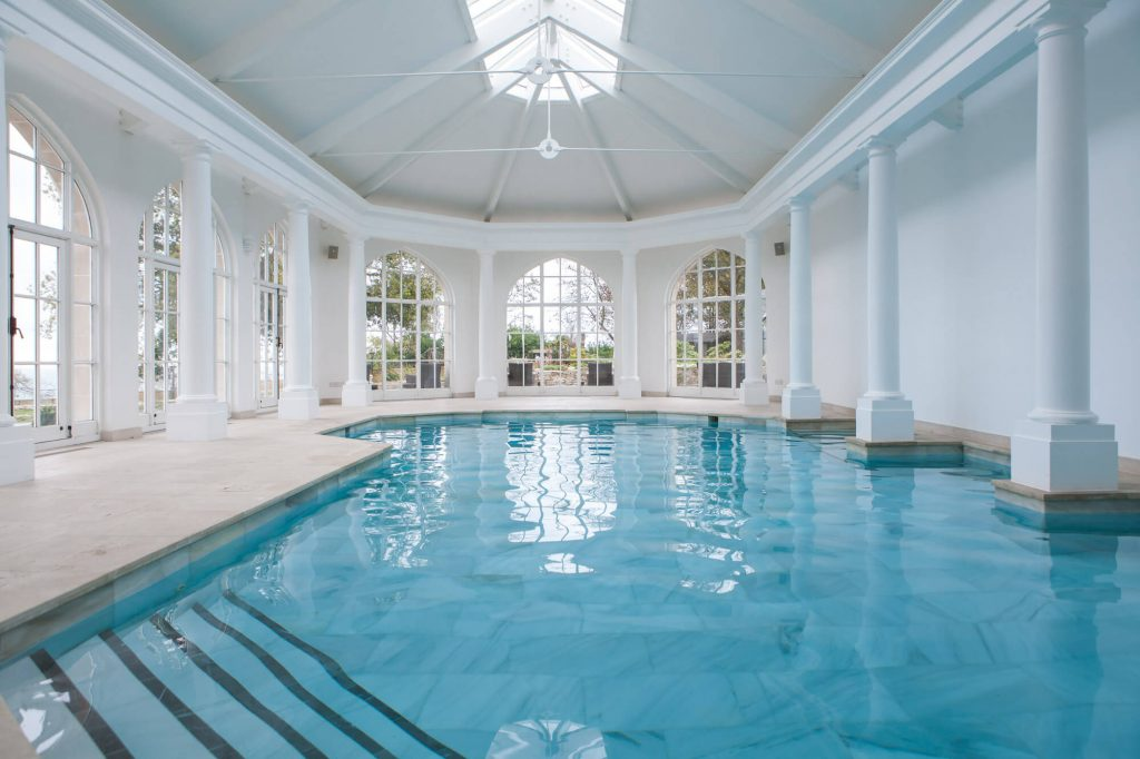 swimming pool Dorset- Interior photographer
