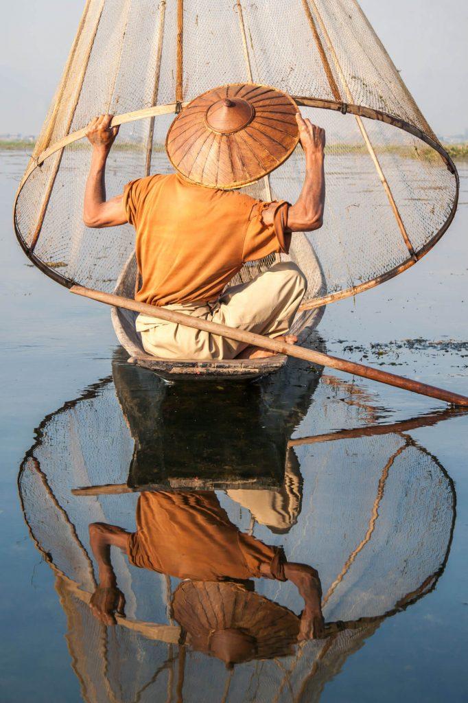 Fisherman, Burma - Travel photographer