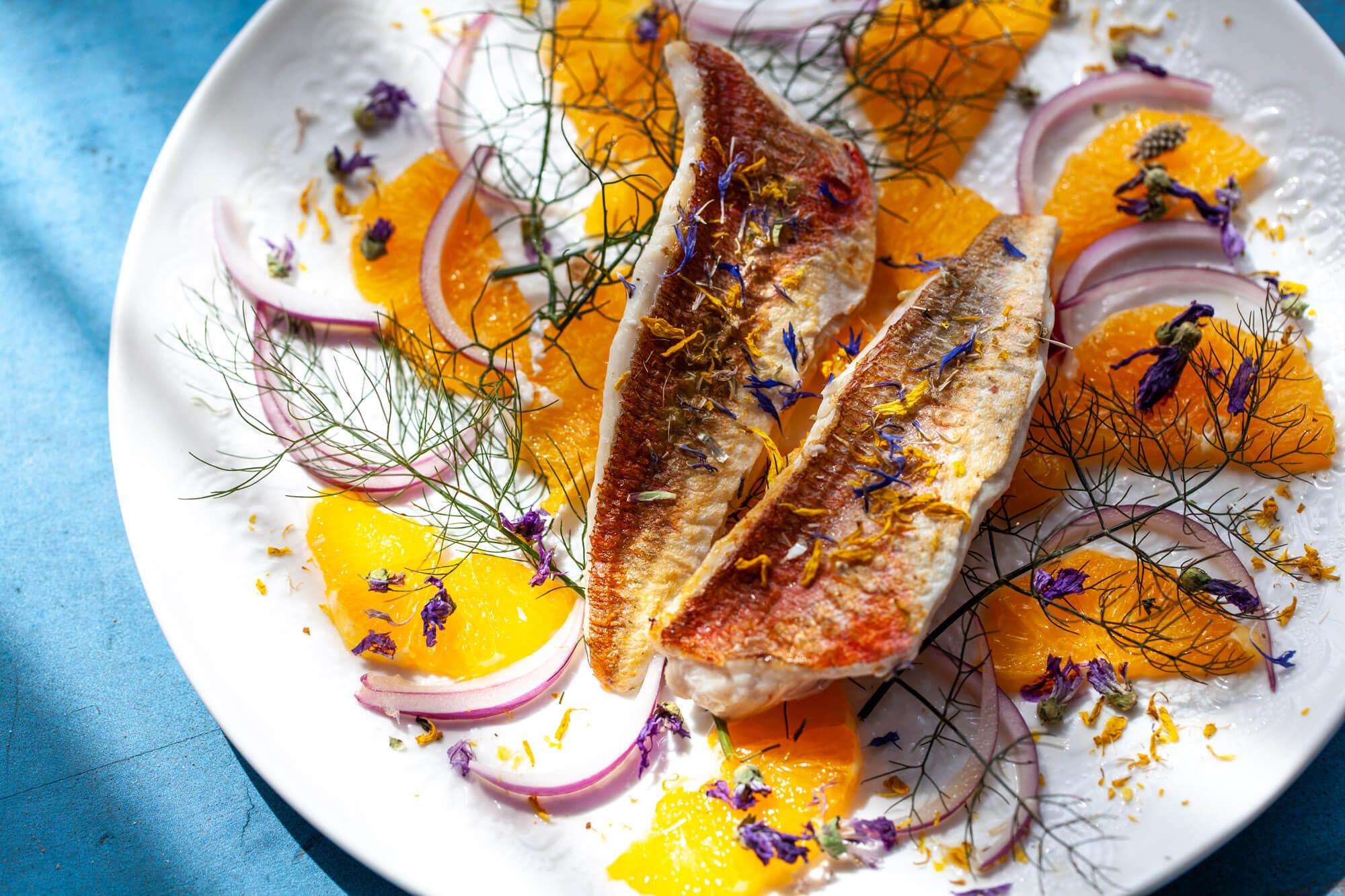 Food photography- fishdish- dorset