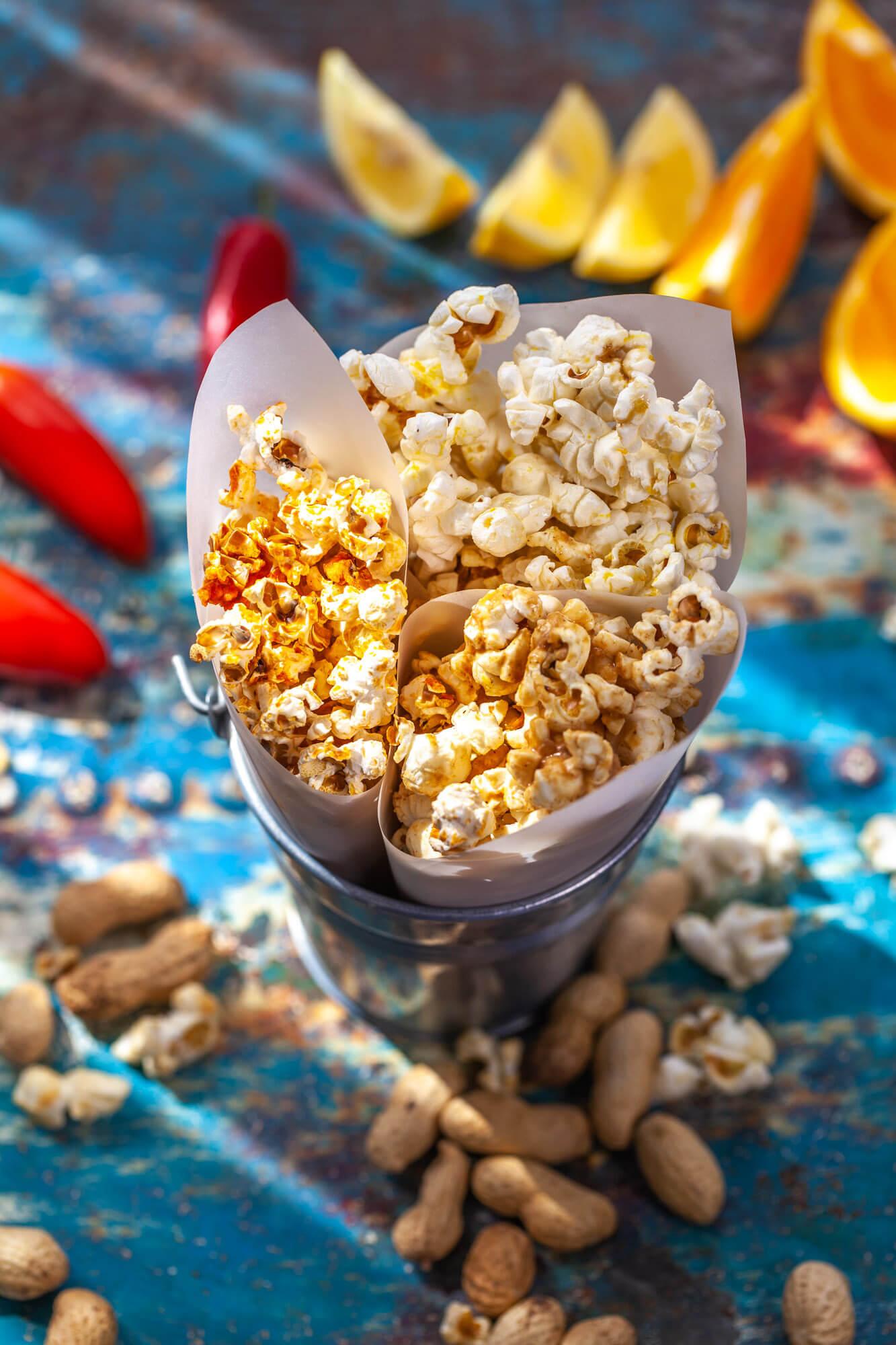Food photography- popcorn- dorset
