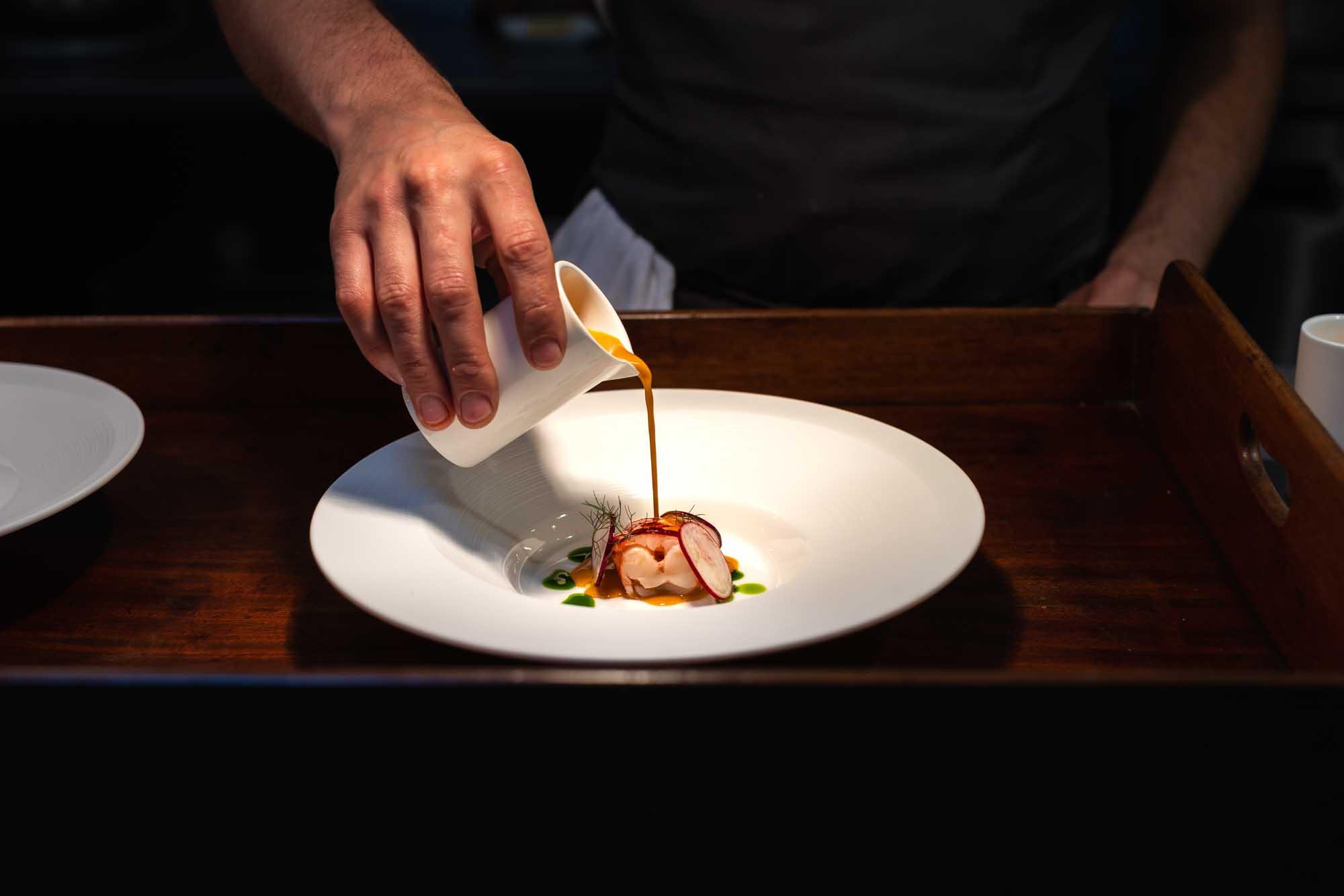 Lara Jane Thorpe-Lobster Catch restaurant- food photography Dorset