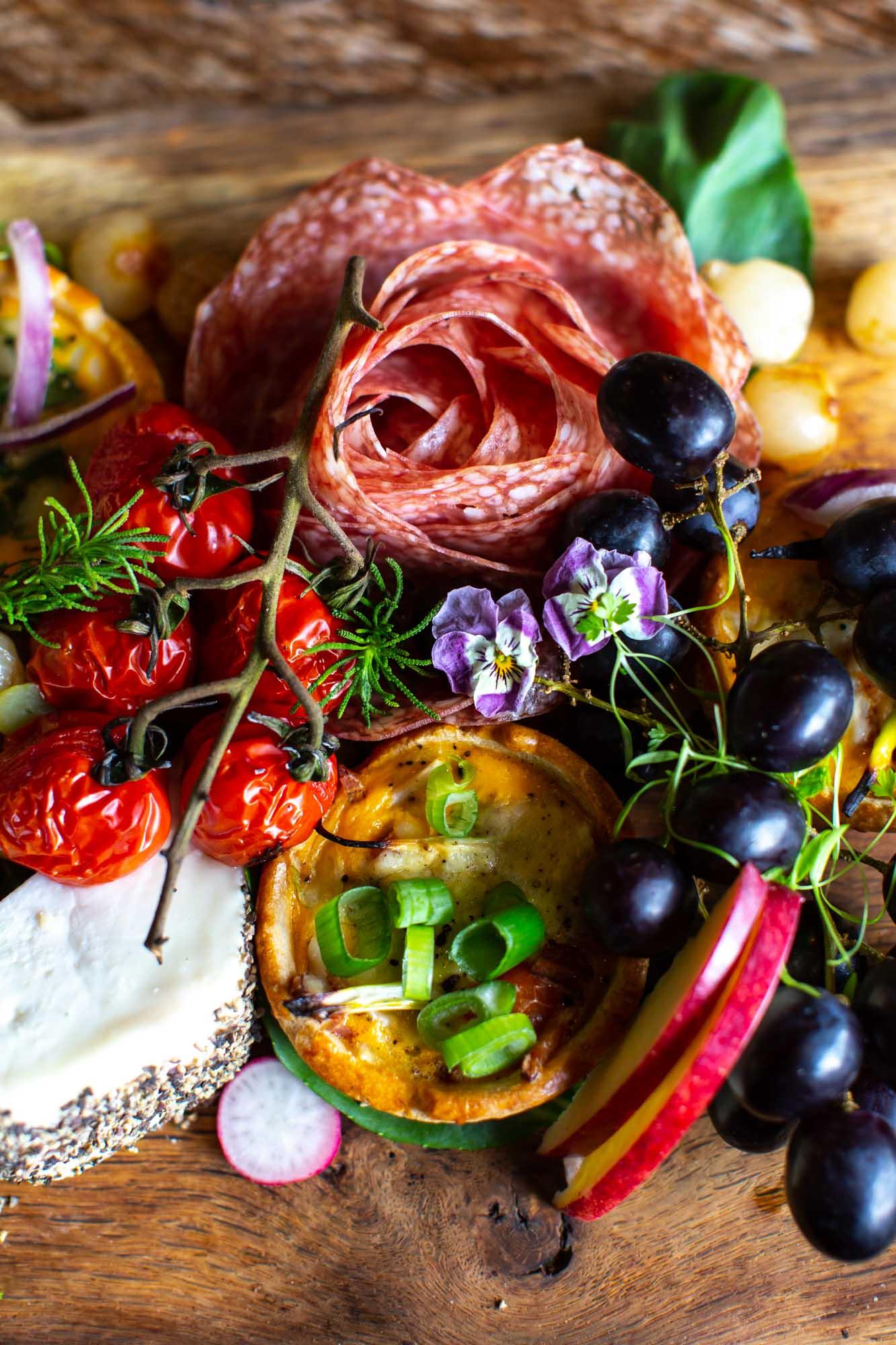Mezze board- Lara Jane Thorpe- Food photography Dorset