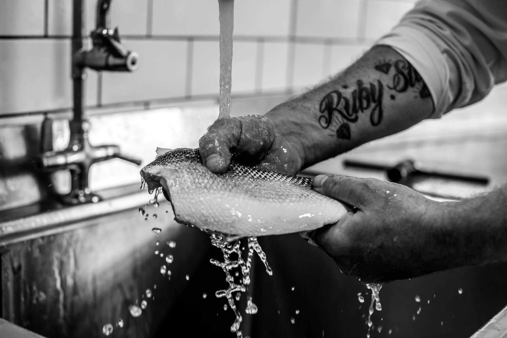 Lara Jane Thorpe -Lifestyle Photography Dorset-weyfish fish