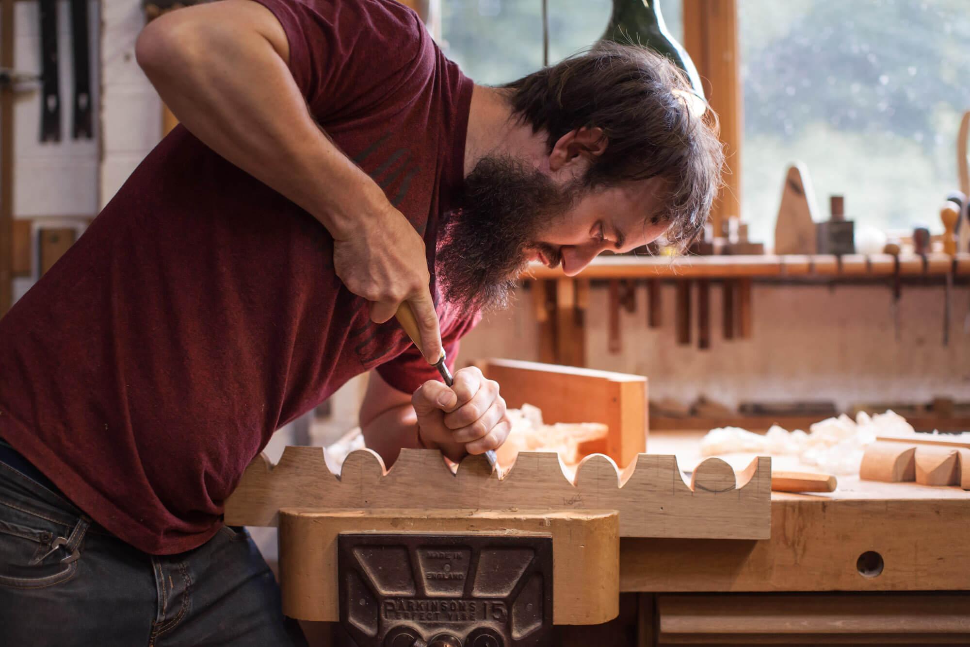 Lara Jane thorpe - commercial photography dorset -woodcarving