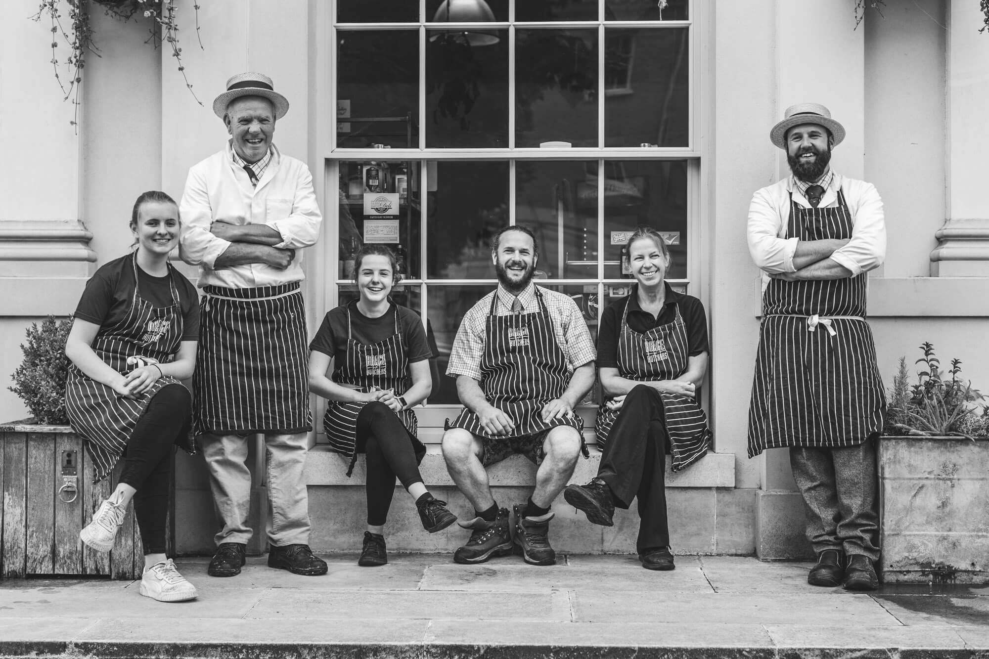 Lara Jane thorpe - portrait photography dorset-Brace of butchers