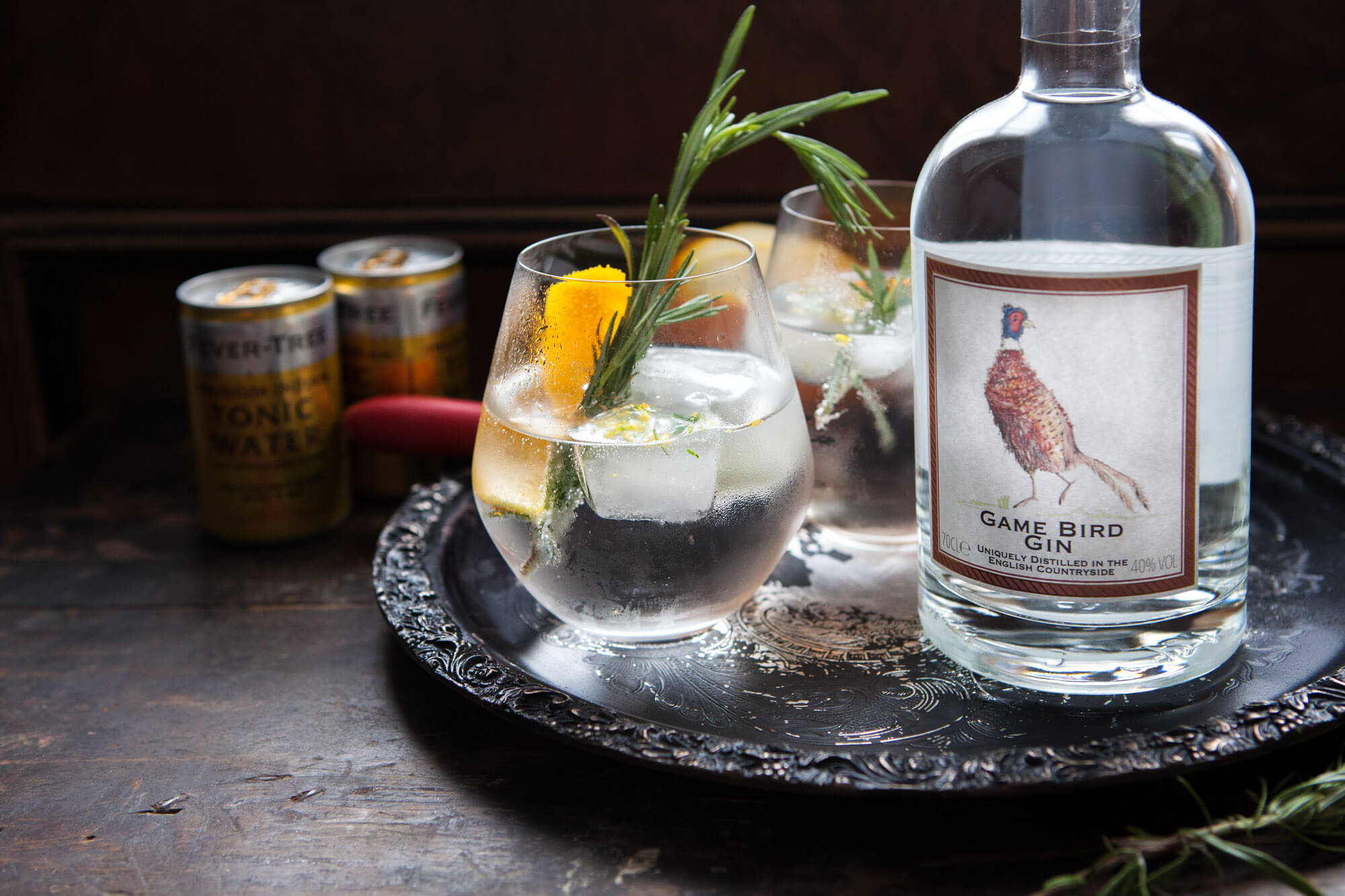 Lara Jane thorpe - product photography dorset -gamebird gin