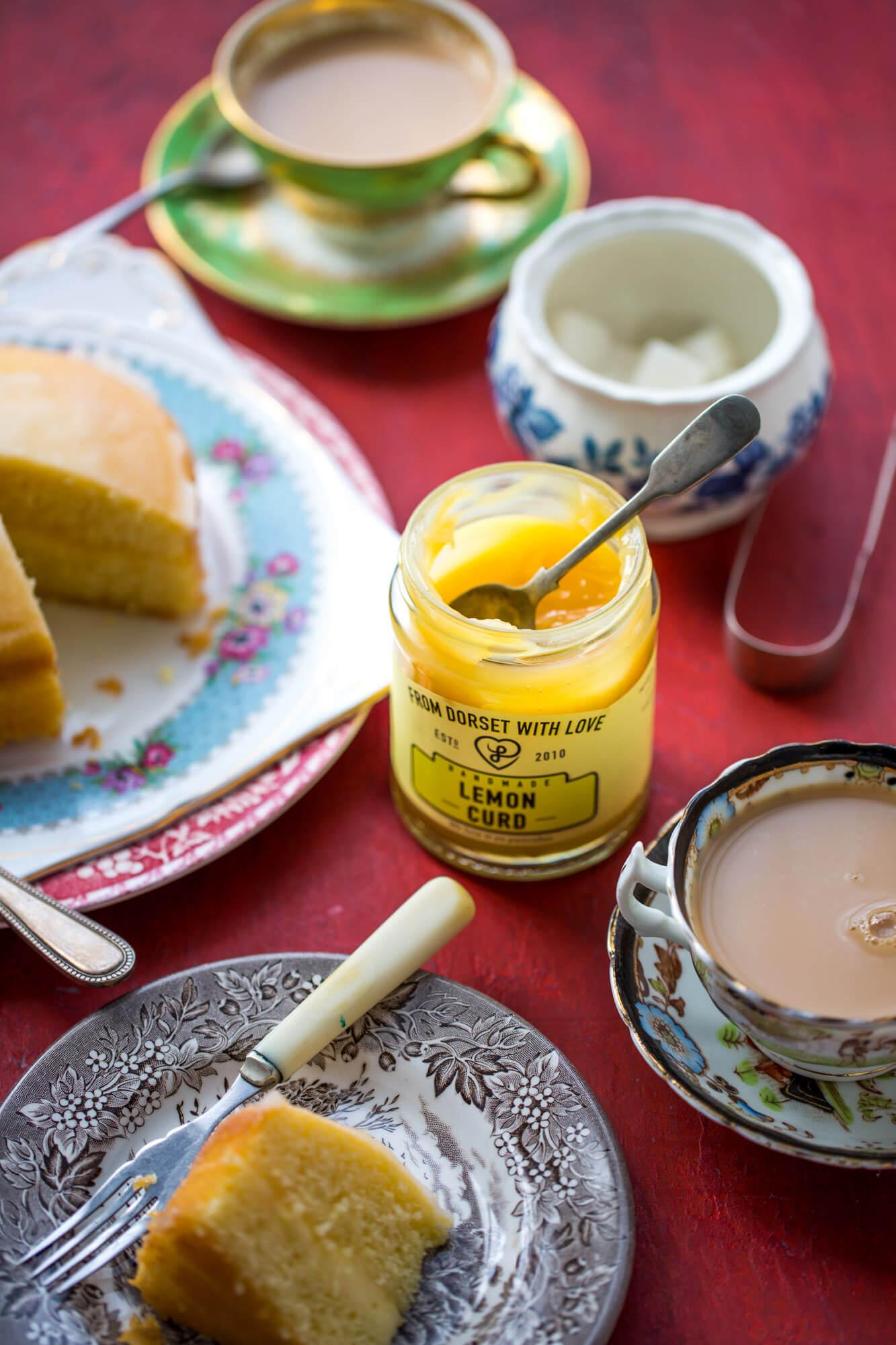 Lemon curd, Dorset- product photographer