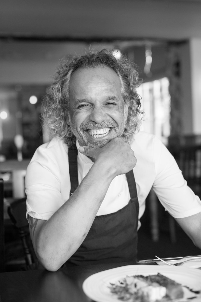 Luciano Da Silva, Chef, portrait Photography, Dorset