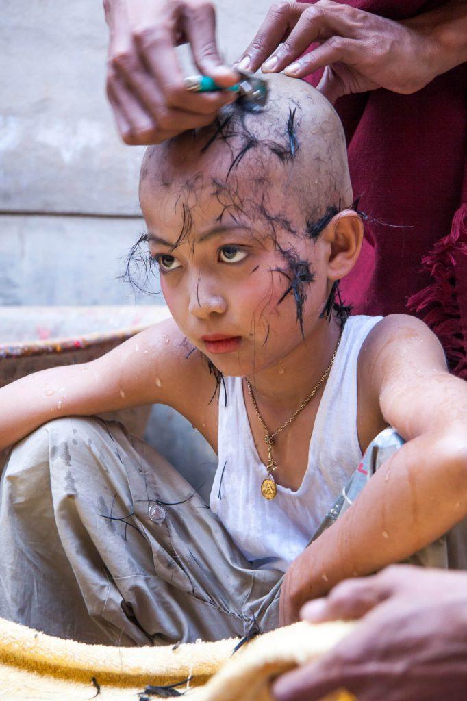Monk boy, Burma - Travel photographer