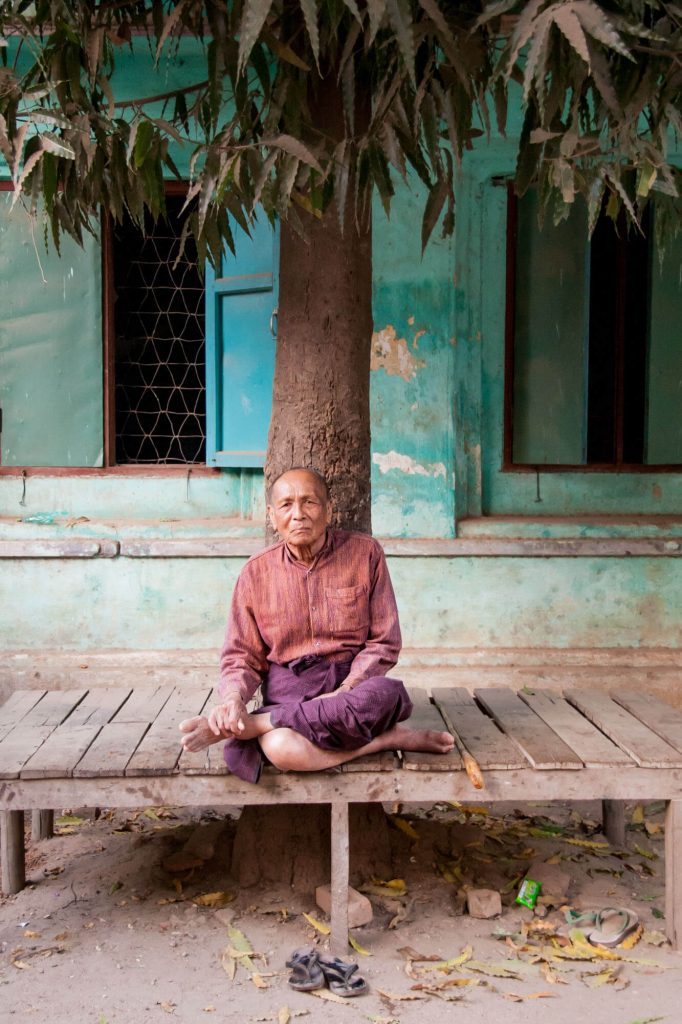 Old man, Burma - Travel photographer