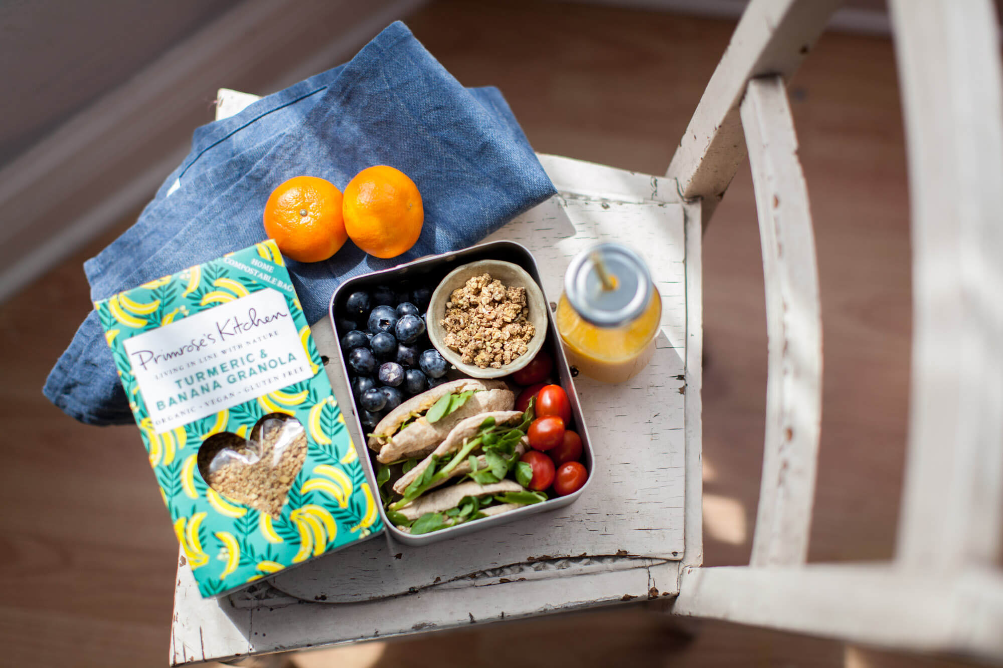 Packed lunch, Dorset- product photographer