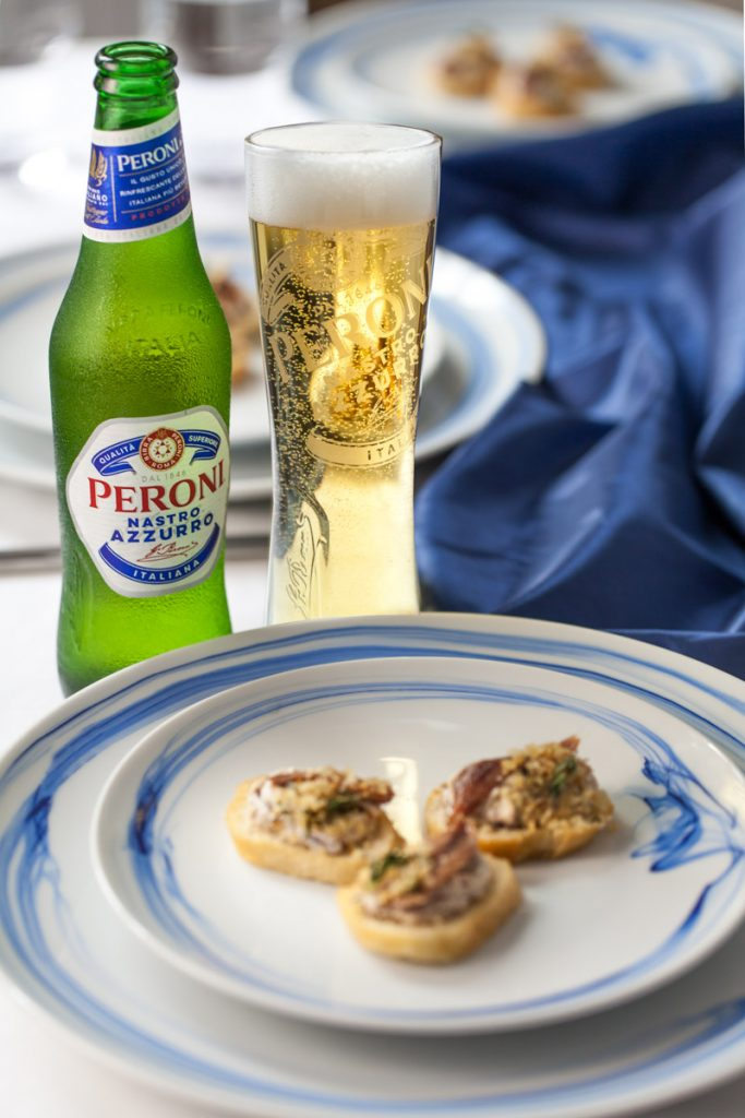 peroni - food, product photography Dorset