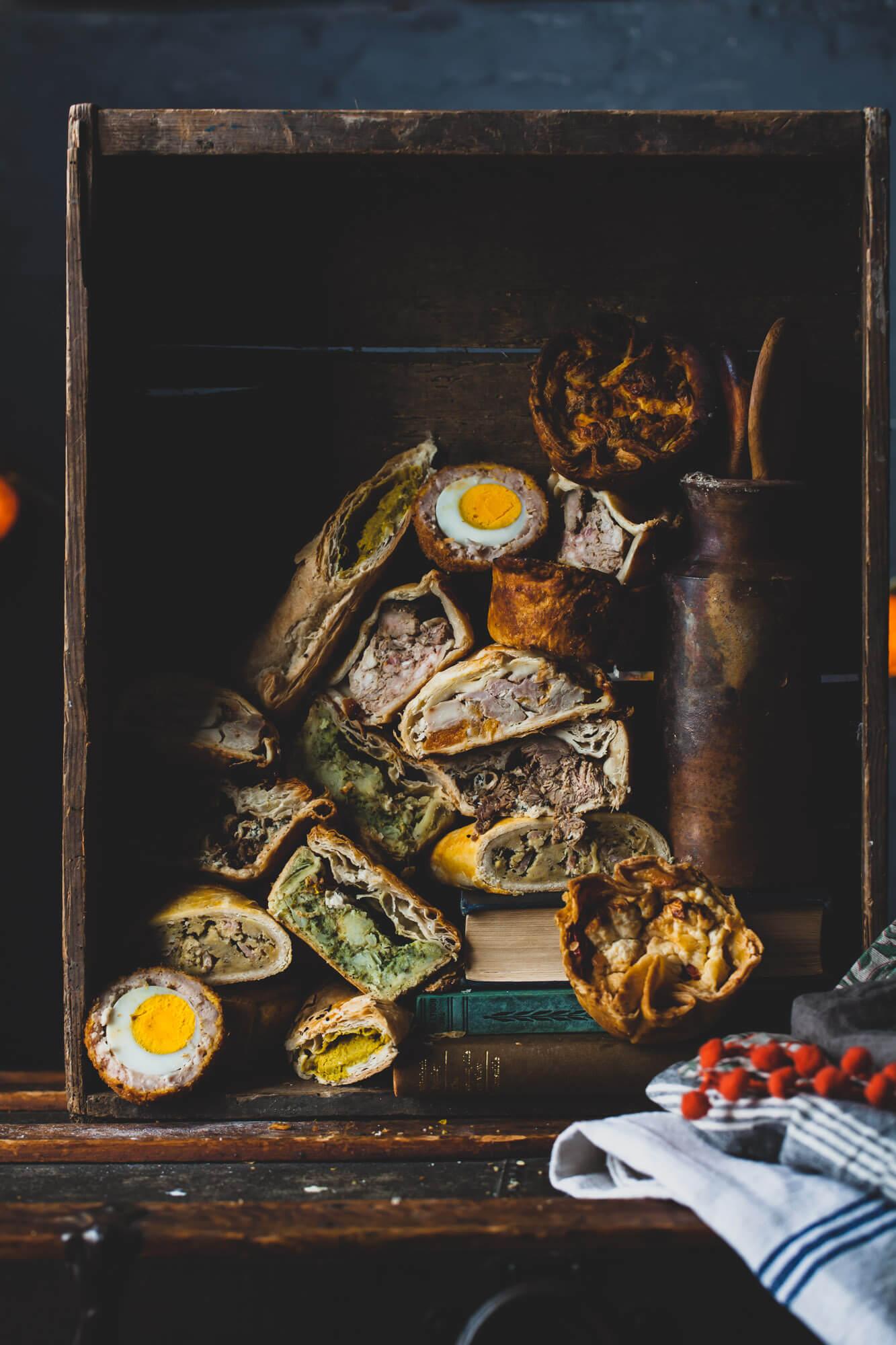 Pies -food photography-dorset- Lara Jane Thorpe