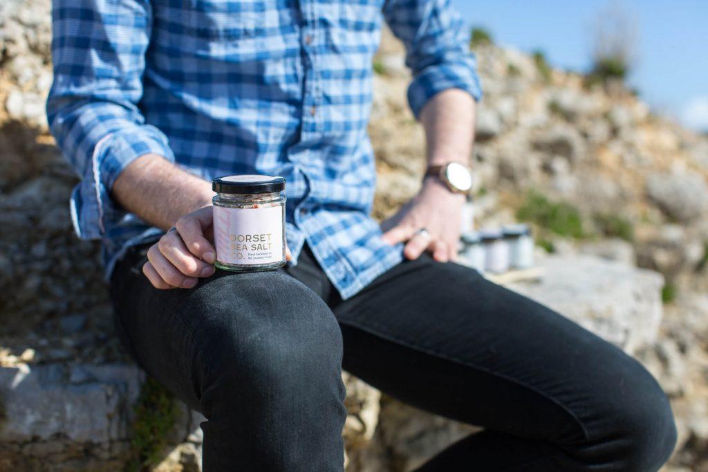 Sea salt, Dorset- Product photographer