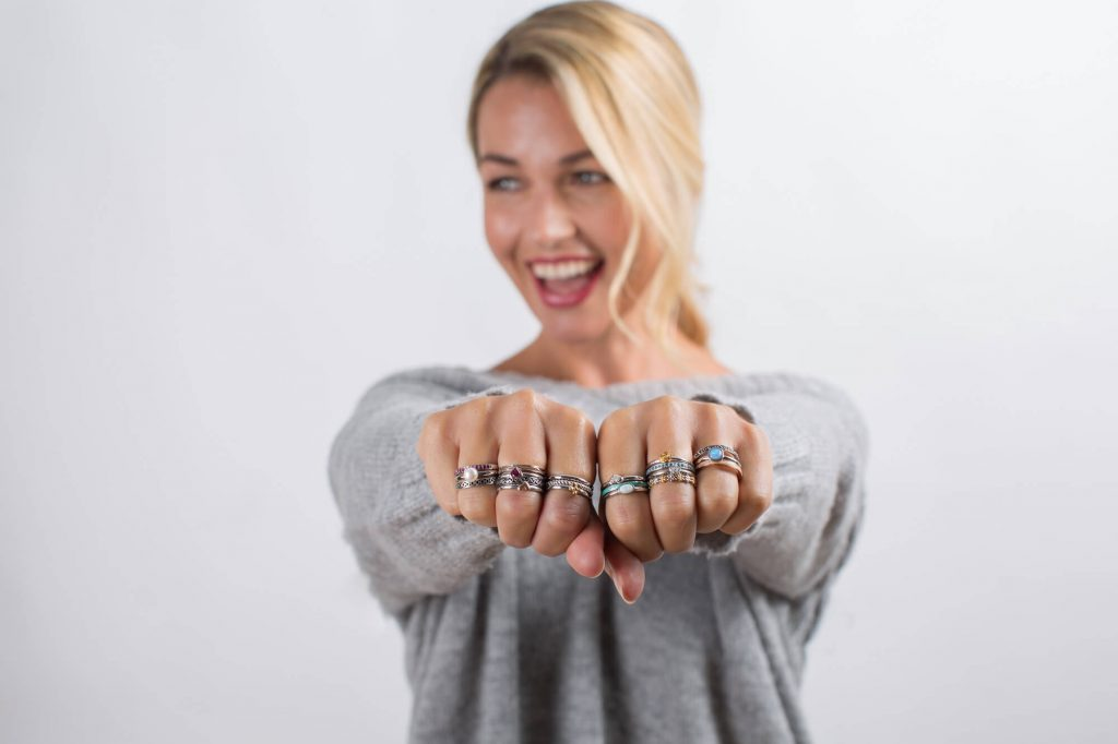 Silver rings, Dorset- Product photographer