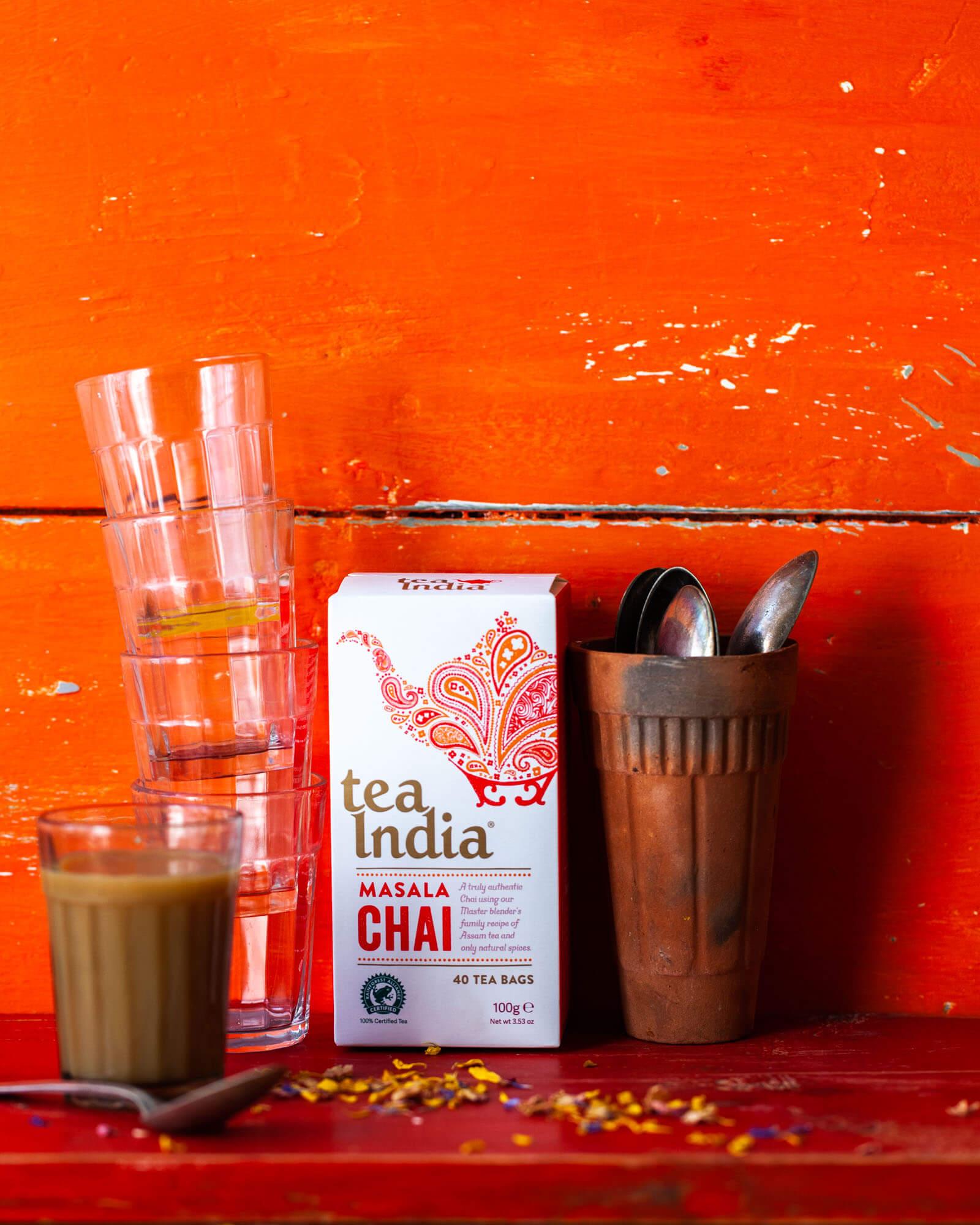 Tea India - Drink photography-Lara Jane Thorpe