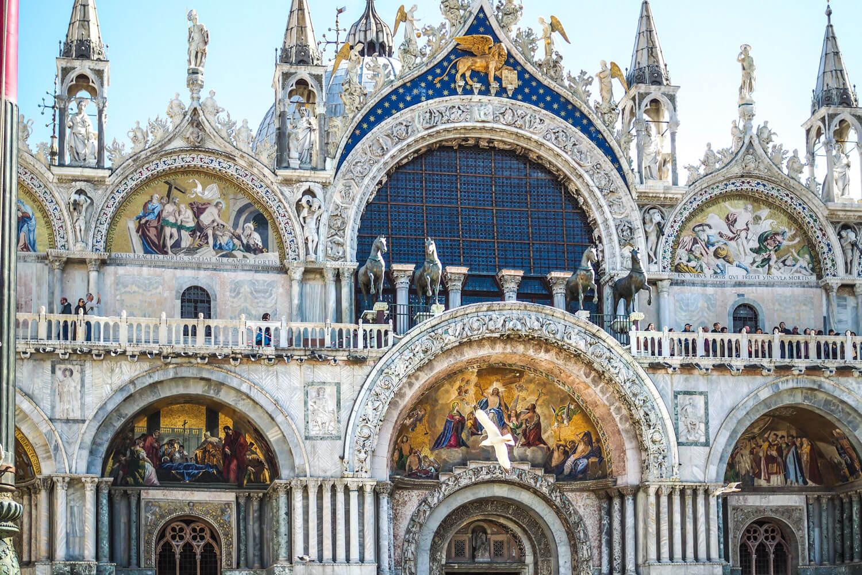 Venice,basilica, travel photography