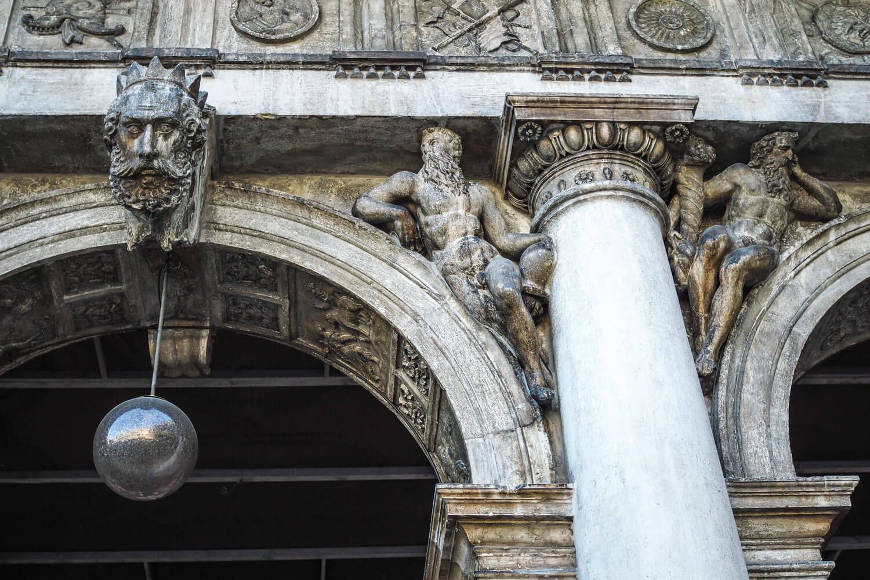 Venice,column, travel photography