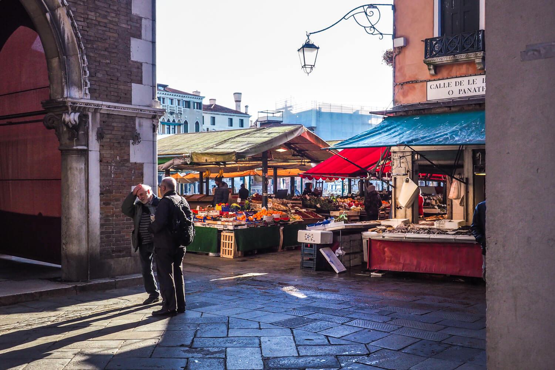Venice,fishmarket, travel photography
